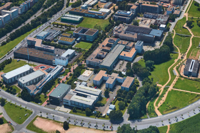 Luftbild Campus Melaten